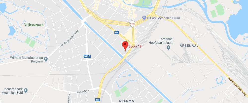 Map - Spoor 18