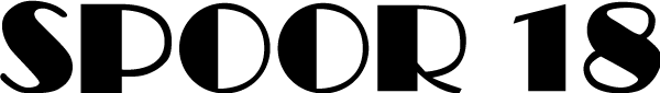 Spoor 18 - Logo black